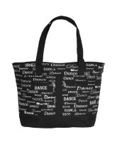 Сумка Dance Fonts Tote Bag от DansBagz
