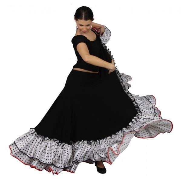 Юбка для фламенко с доставкой